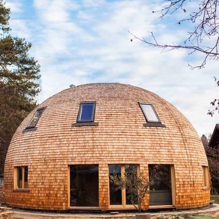Domehouse 25 kvm
